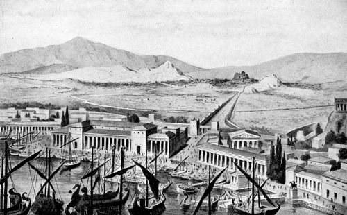 The Double Walls of Athens
